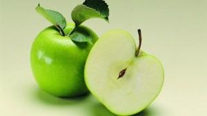 青苹果青脆桌面壁纸图片