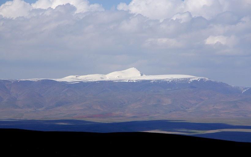 青海八一冰川风景写真