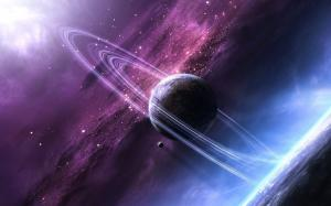 唯美宇宙浩瀚星空高清图片