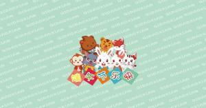 兔小贝:端午节父亲节可爱卡通桌面壁纸