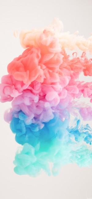 丰富多彩烟雾抽象高清手机壁纸