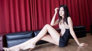 女神美腿迷人写真