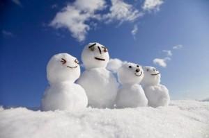 雪人完美高清桌面壁纸