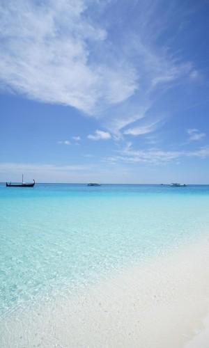 蔚蓝的海洋风光