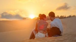 浪漫甜蜜的情侣图片