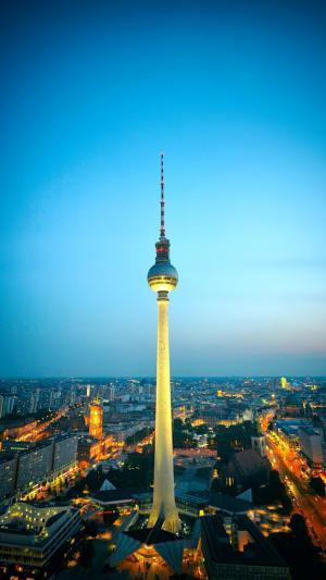 德国最高建筑-电视塔