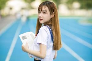 清纯校服美女校园气质写真