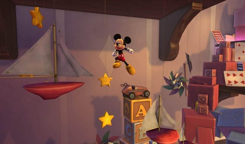 梦幻城堡米老鼠历险经典平台跳跃游戏图片