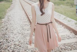 唯美女生夏天的裙子
